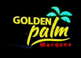 Golden Palm Marquee