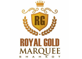 Royal Gold Marquee